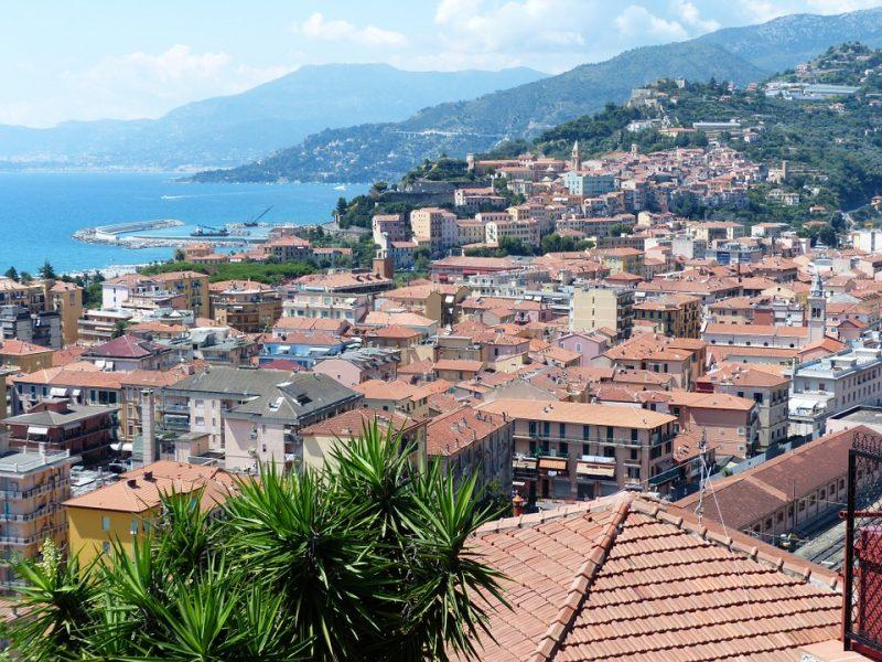 Ventimiglia overzichtsfoto
