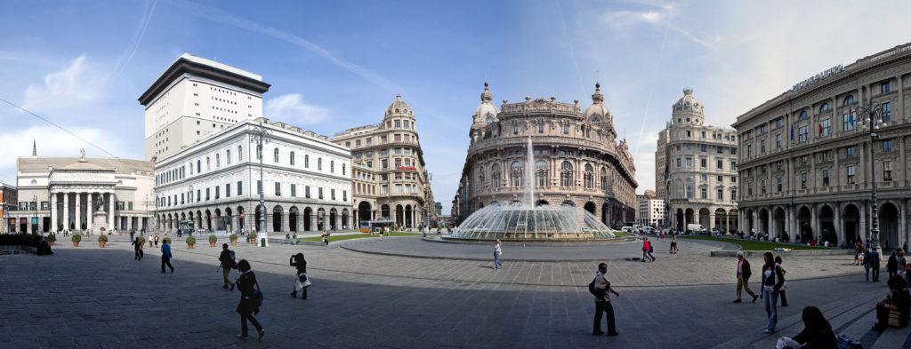 Piazza de Ferrari - Genua