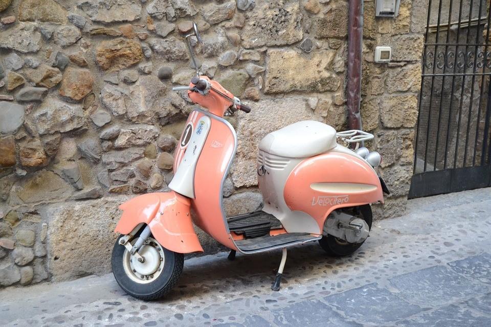 Typisch Italiaanse producten, Vespa