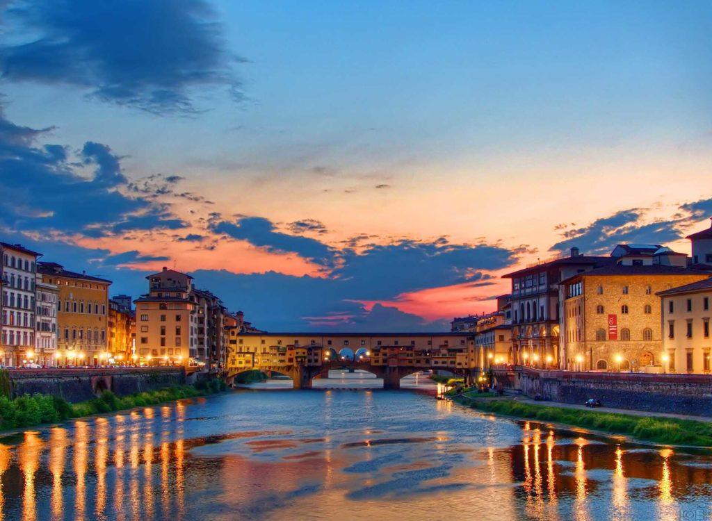 Het mooie Toscane aan de Italiaanse Bloemenrivièra