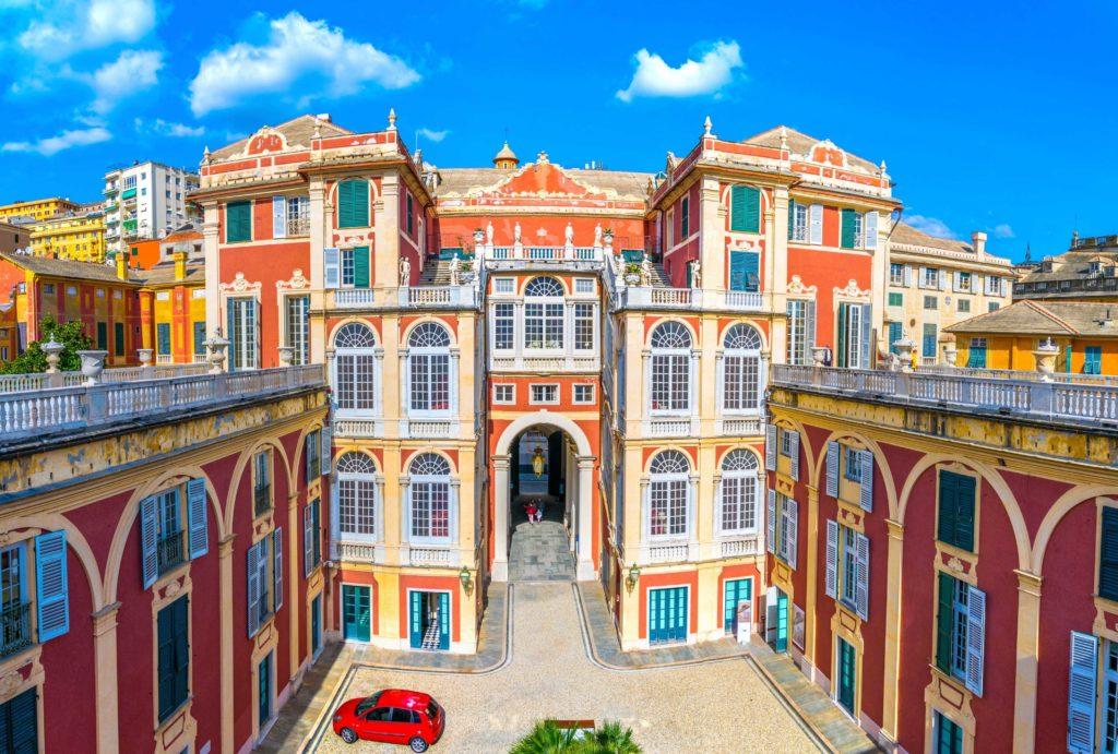 Centrum van Genua