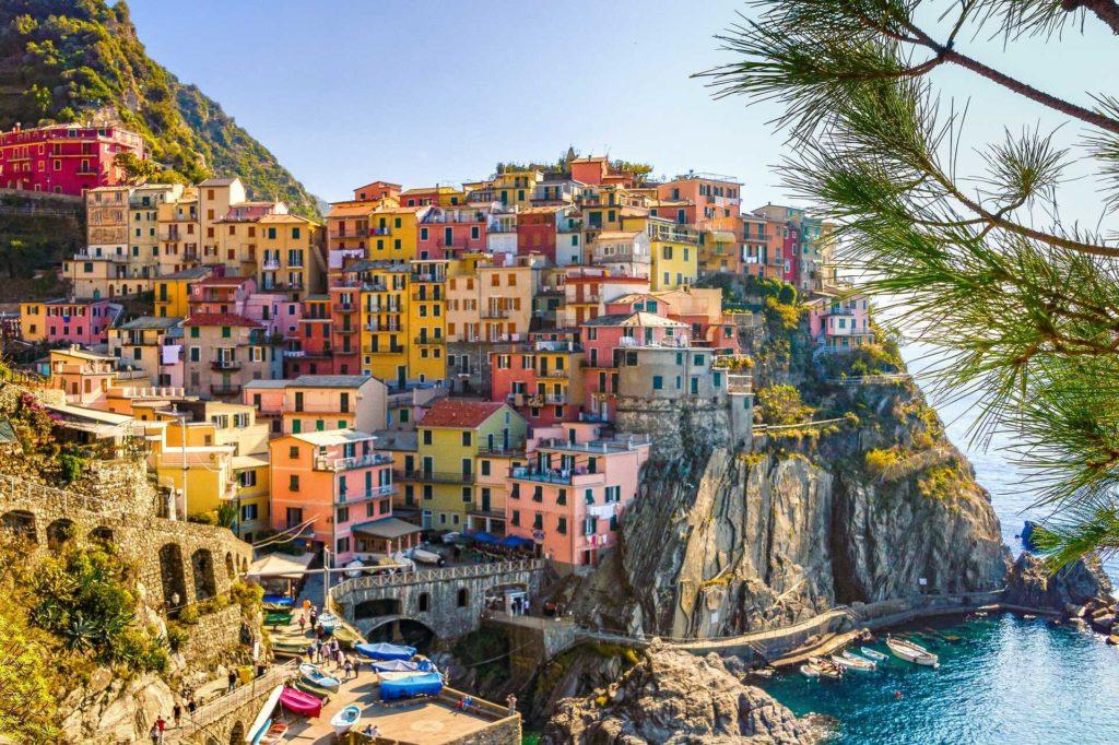 Cinque Terre aan de Italiaanse Bloemenrivièra