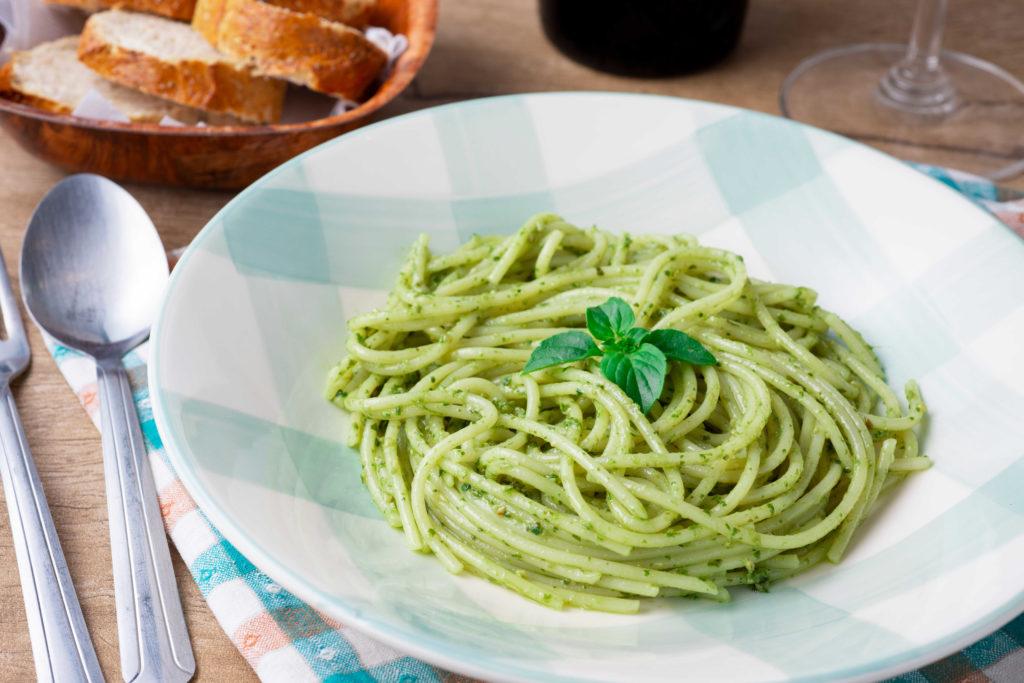 Lekkere pasta pesto